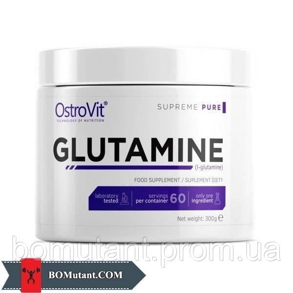 100% Glutamine 300 гр OstroVit