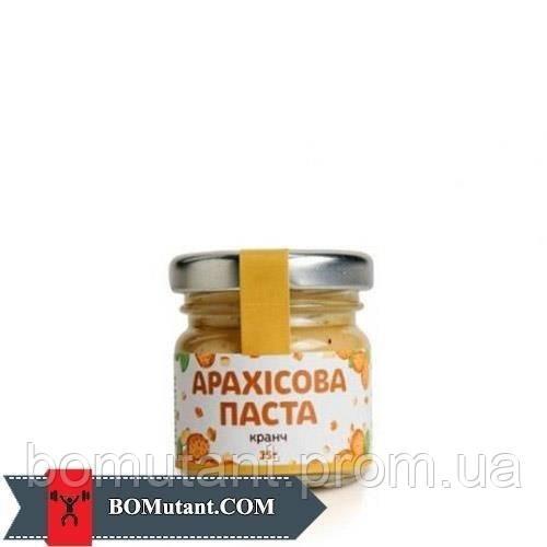 Арахісове Масло 35 гр crunchy TOM peanut butter