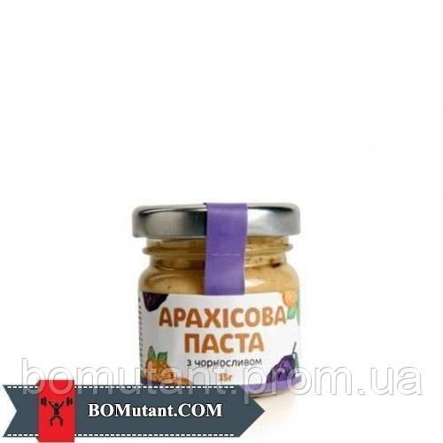 Арахісове Масло 35 гр з чорносливом TOM peanut butter