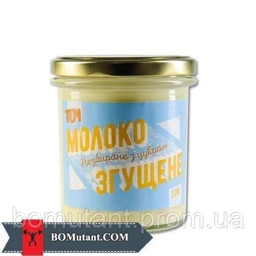 Молоко згущене 370 гр TOM peanut butter