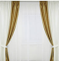 Комплект штор для спальни,гостинной зала