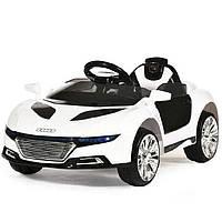 Детский электромобиль Машина «Audi» M 2448EBLR-1 Белый