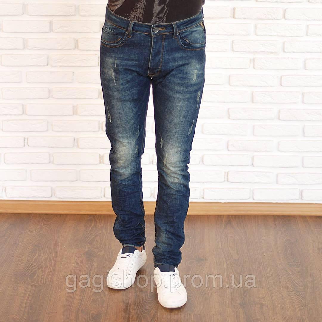 677ea8d0d9e Модные мужские джинсы зауженные
