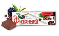 """Чёрный фито-шоколад Энергия """"Фитоника"""" 30 грамм"""