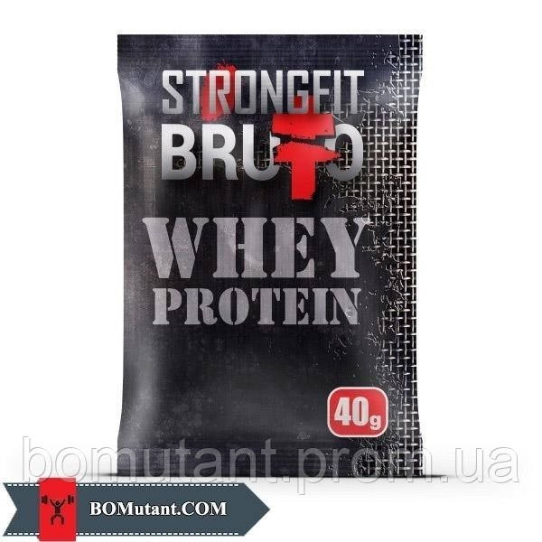 Whey Protein 40 гр банан Strong FIT