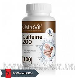Caffeine 200 100 капсул OstroVit