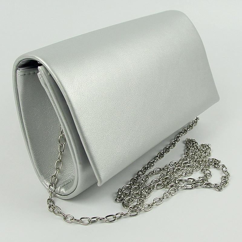 Серая маленькая сумка-клатч Rose Heart rh-8728-68 на цепочке вечерняя  матовая caa06012ac0