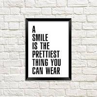 Постер в рамці Smile (MT5_18A040)