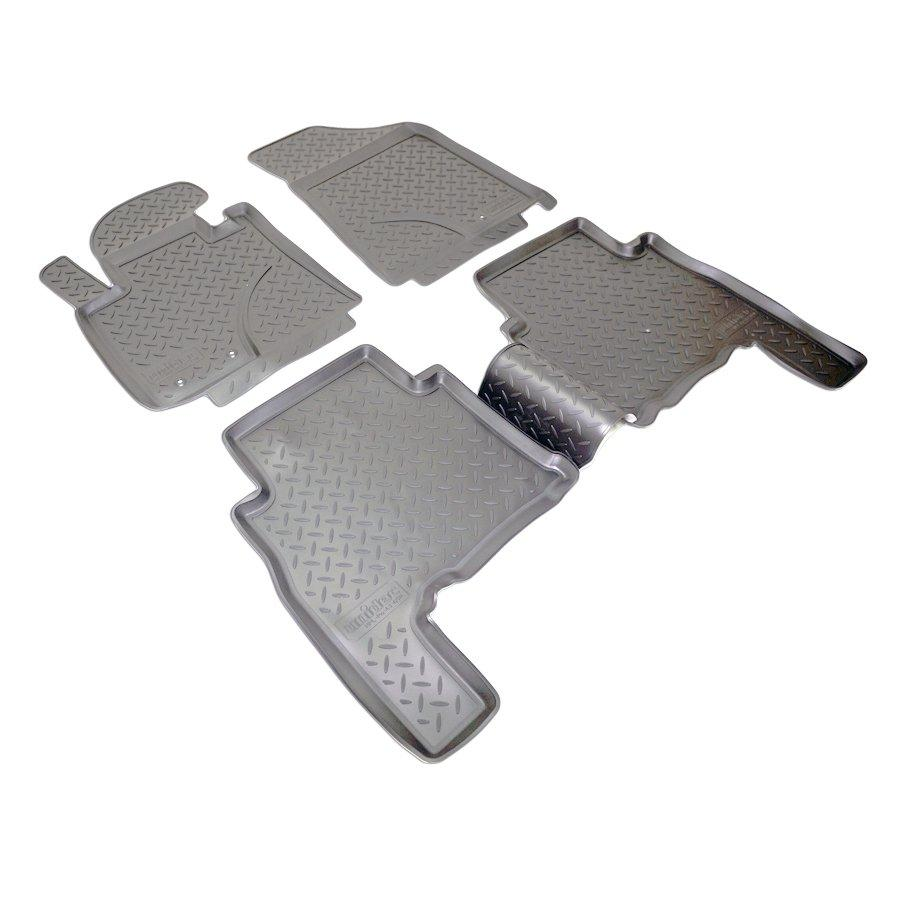 Килимки в салон для Kia Sorento (XM) (09-12) (полиур., компл - 4шт) NPL-Po-43-65N