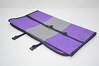 Авточехол на переднее сиденье для собак Гармония двухсторонний фиолетовый, фото 1
