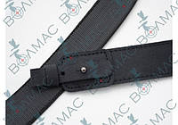 Ремень на ружье кожаный с прорезиненной лентой, фото 1