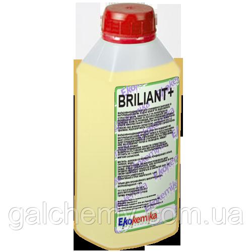 Бальзам-кондиционер для очистки и ухода за натуральной и искусственной кожей  Briliant+ 0,5 л Ekokemika