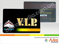 Пластиковые карты VIP, вип карты пластиковые