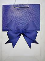 Пакет подарочный бумажный средний 16х25х7 (23-099)