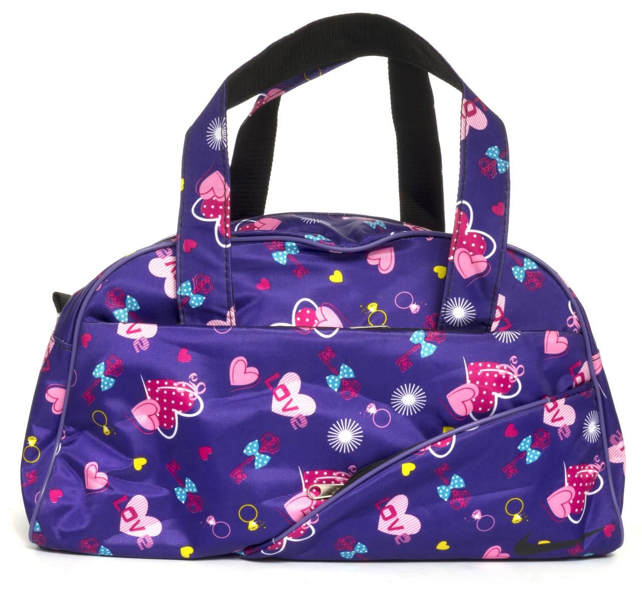c4dd806d35ce Спортивная женская средняя тканевая сумка art, 128-2 Украина (103470)  фиолетовая