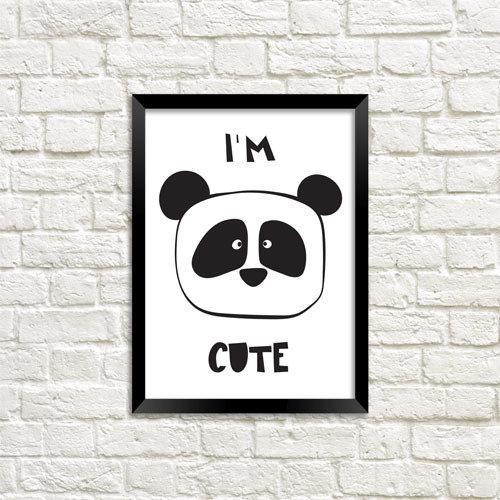 Постер в рамці i'm Cute (MT5_18M027)