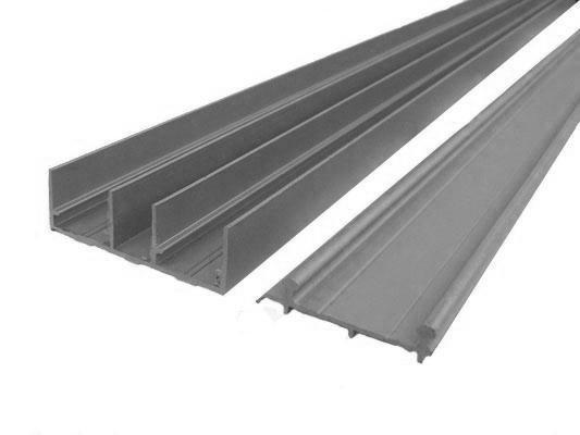 Направляючі для меблів SKM 80, L 3 м / Направляющие СКМ 80, верхнее и нижнее крепление, длина 300 см