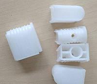 Втулка для хрестовини під ролик D = 11 мм / Заглушка для крестовины стула под шток ролика диам. 11 мм, пластик, фото 1