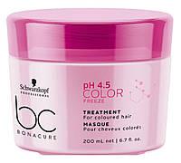 Маска для окрашенных волос Schwarzkopf BC Color Freeze Treatment 200ml