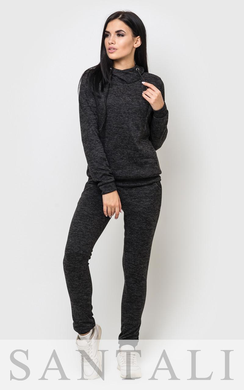 dcf8b198 Спортивный женский костюм из ангоры с капюшоном 4505477 - Интернет-магазин  одежды