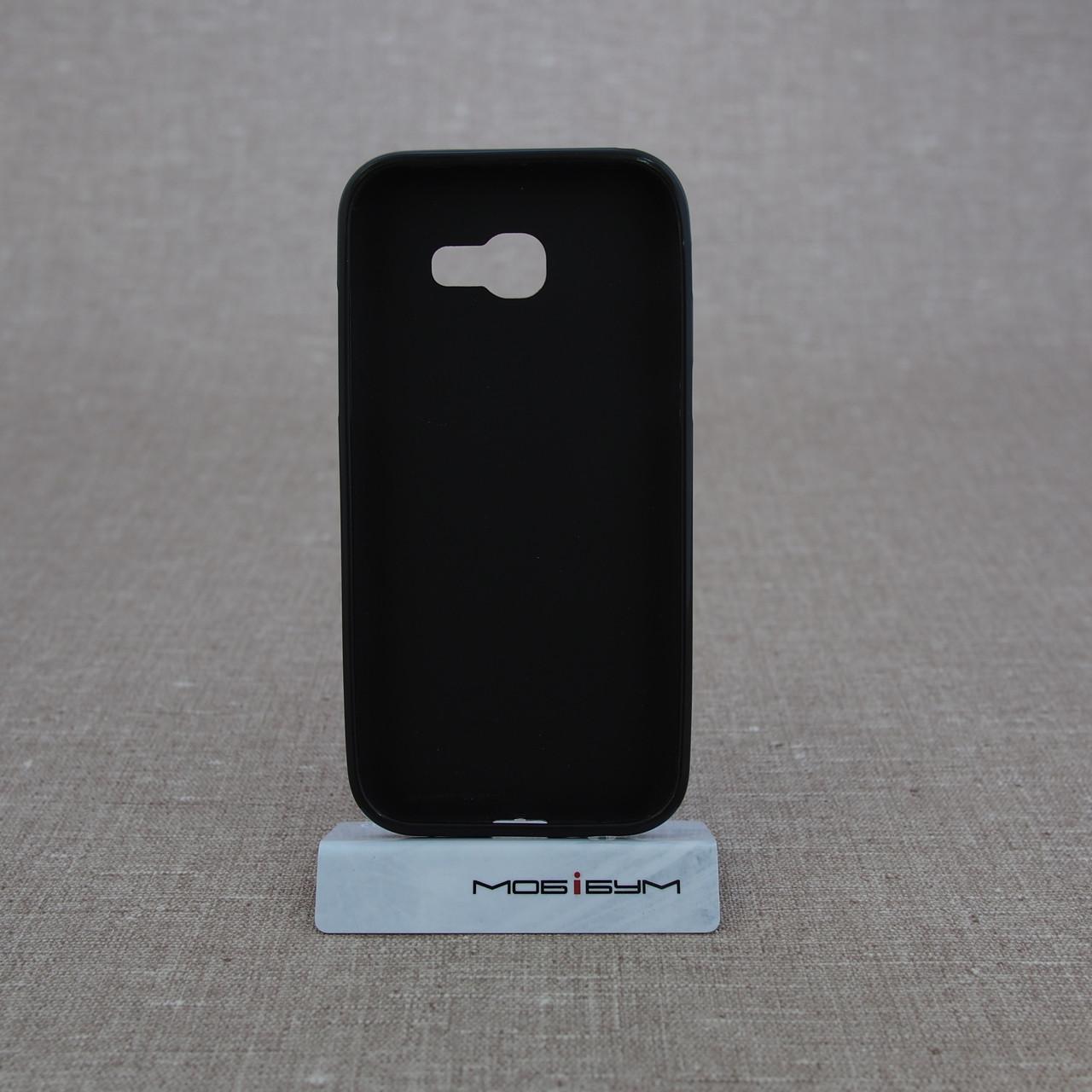 Чехол TPU Samsung A520 black Galaxy A5 (A520) 2017