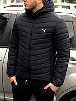 Очень теплая мужская зимния куртка Puma в стиле пума