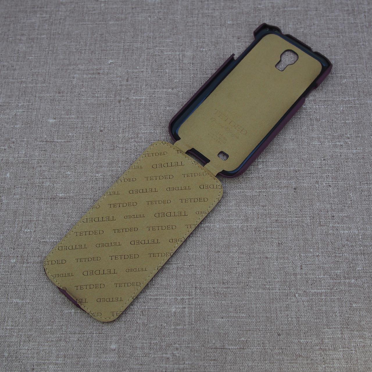 Чехол TETDED Samsung Galaxy S4 purple Для телефона