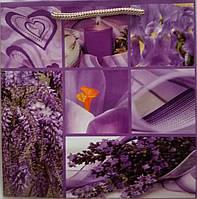Пакет подарочный бумажный квадрат 23х24х10 (24-120)