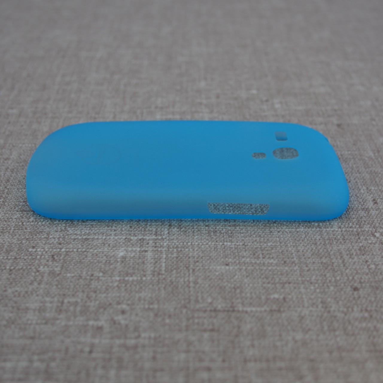 Чехол Ozaki O!Coat 0.4 Samsung Galaxy S3 mini Jelly light-blue Для телефона