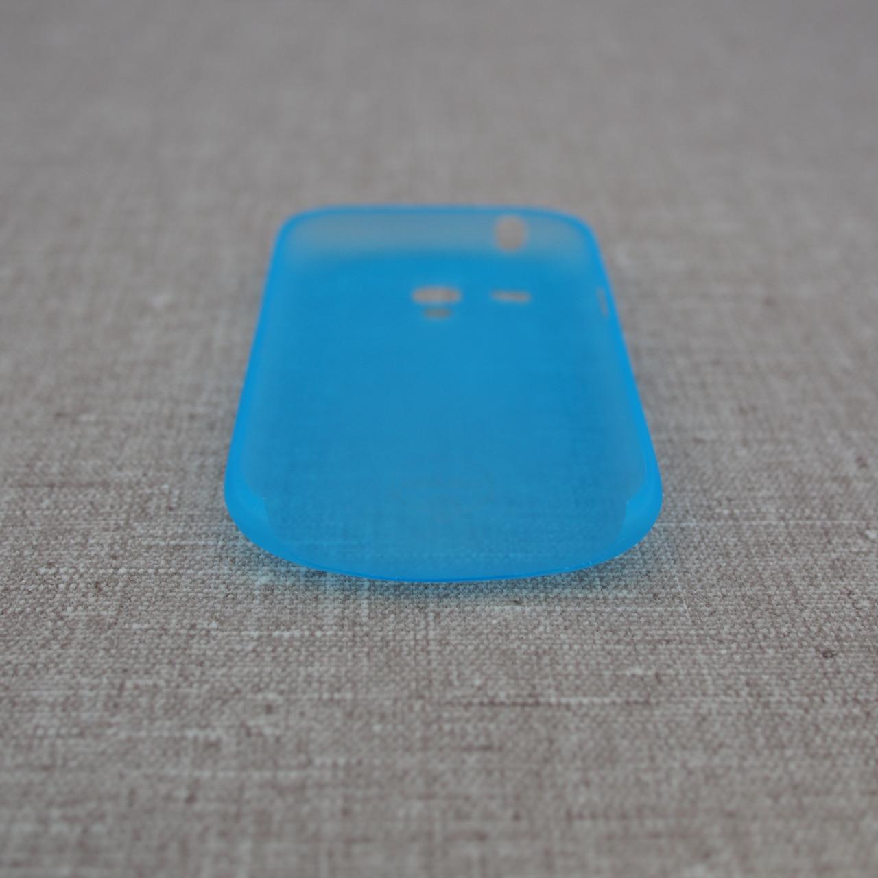 Чехол Ozaki O!Coat 0.4 Samsung Galaxy S3 mini Jelly light-blue Для телефона i8190