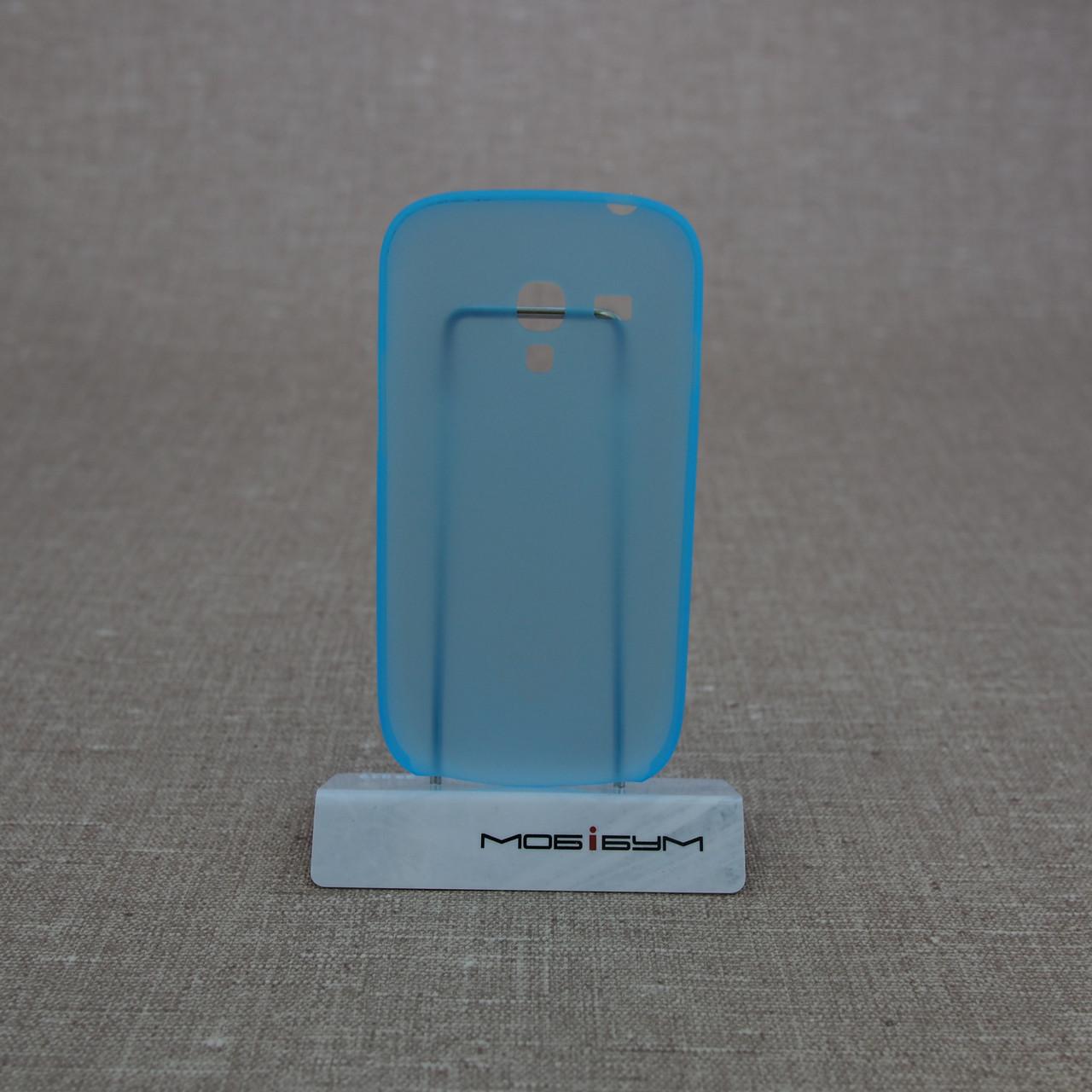 Чехол Ozaki O!Coat 0.4 Samsung Galaxy S3 mini Jelly light-blue