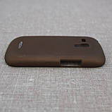 Накладка ROCK NakedShell Samsung Galaxy S3 mini [i8190] Coffe EAN/UPC: 695029064471, фото 3