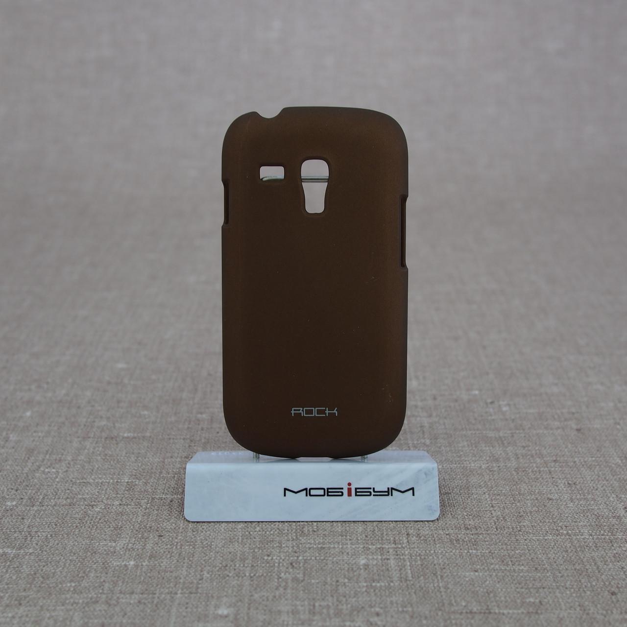 Накладка ROCK NakedShell Samsung Galaxy S3 mini [i8190] Coffe EAN/UPC: 695029064471