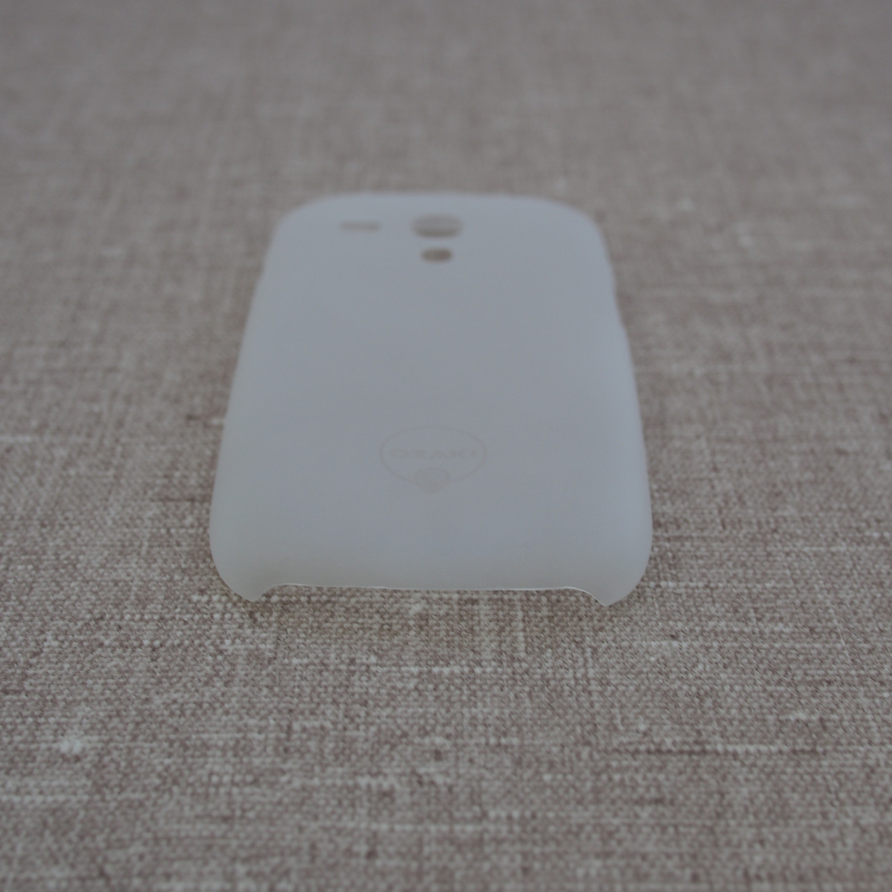 Чехол Ozaki O!Coat 0.4 Samsung Galaxy S3 mini Jelly white Для телефона i8190