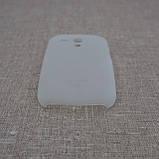 Чехол Ozaki O!Coat 0.4 Samsung Galaxy S3 mini [i8190] Jelly white [OC700TR] EAN/UPC: 4718971700015, фото 3