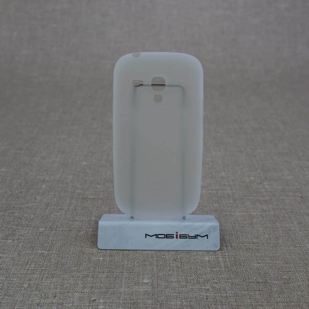 Чехол Ozaki O!Coat 0.4 Samsung Galaxy S3 mini Jelly white Для телефона