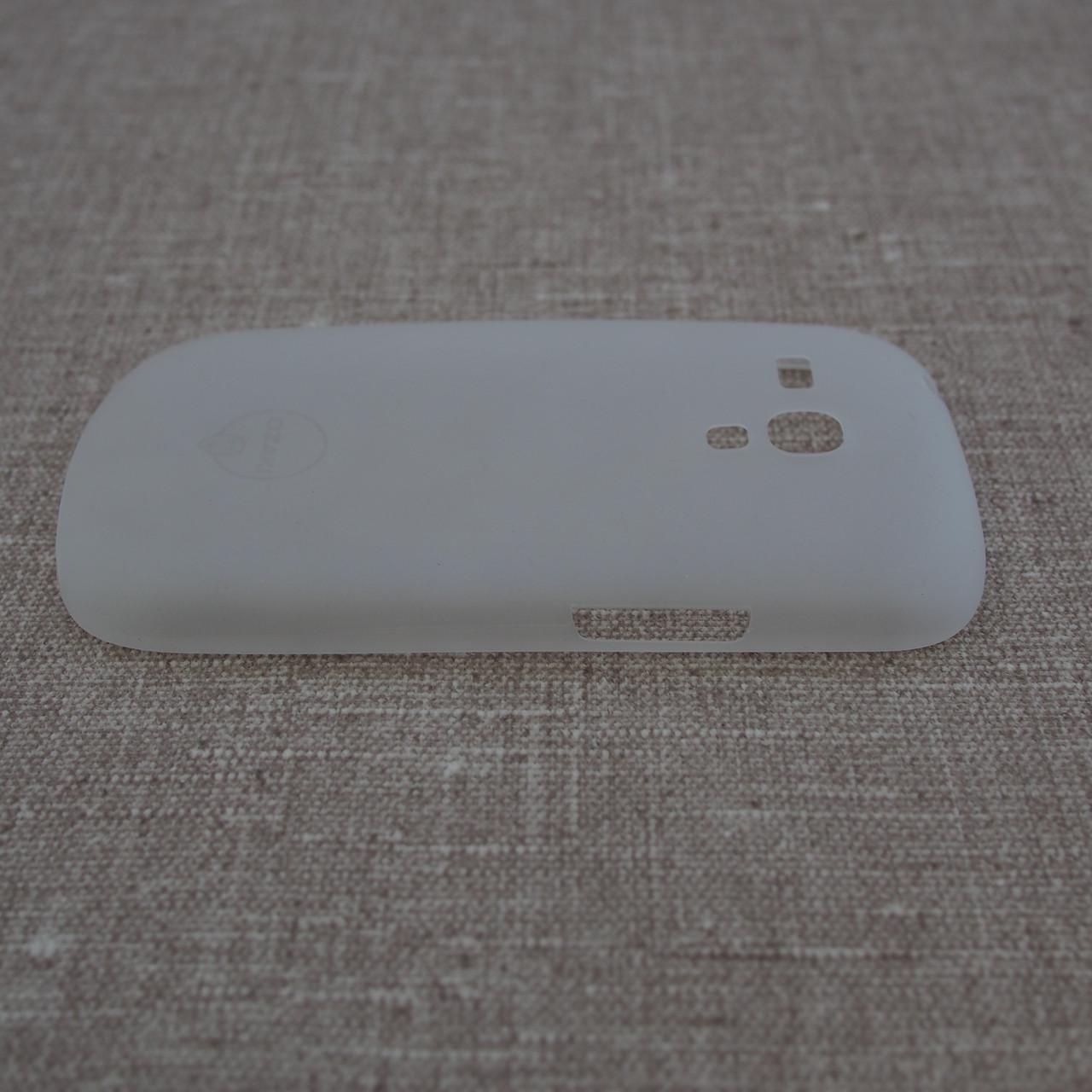Чехлы для Galaxy S Series (остальные модели) Ozaki O!Coat 0.4 Samsung S3 mini Jelly white