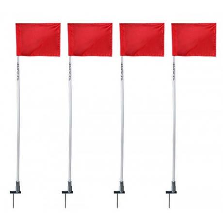 Прапори кутові для футбольного поля набір 4 штуки YAKIMASPORT 100117