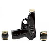 """Подарочный набор под спиртное """"Пистолет""""., фото 1"""