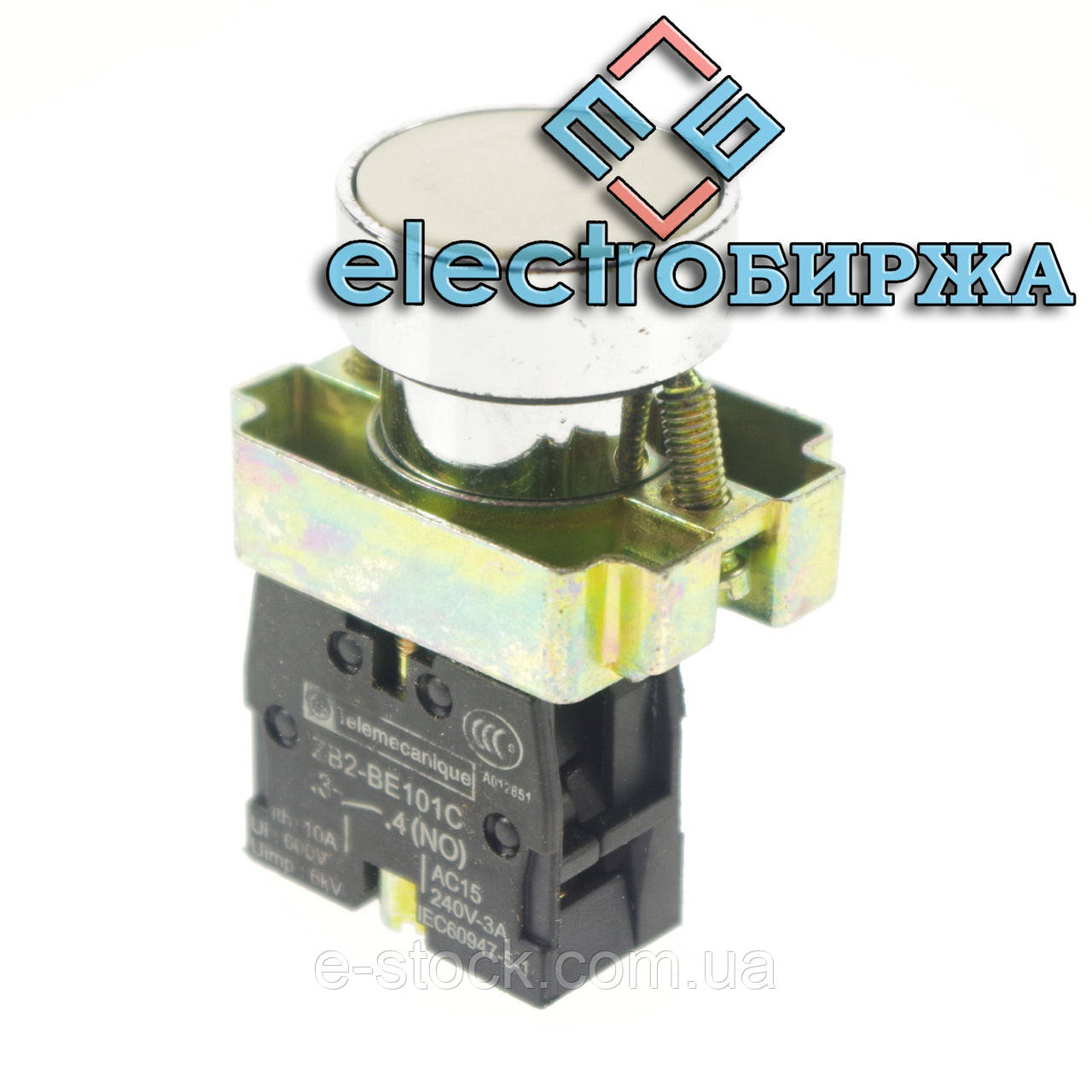 """XB2-BA11 Кнопка """"Старт"""" белая"""