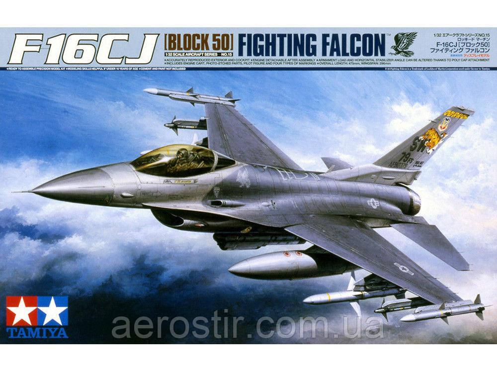 F-16 CJ block 50 1/32 Tamiya 60315