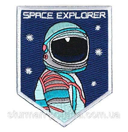 Патч нашивка Space Explorer 80х60 мм (Rotcho) USA