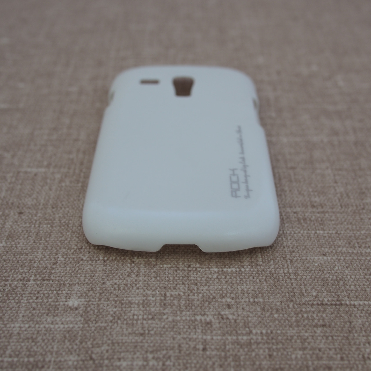 Чехлы для Galaxy S Series (остальные модели) ROCK New NakedShell Samsung S3 mini white