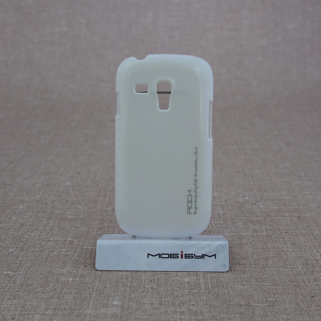 Накладка ROCK New NakedShell Samsung Galaxy S3 mini [i8190] white EAN/UPC: 695029064474