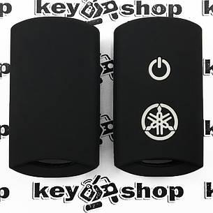 Чехол (черный, силиконовый) для мото ключа Yamaha (Ямаха), фото 2