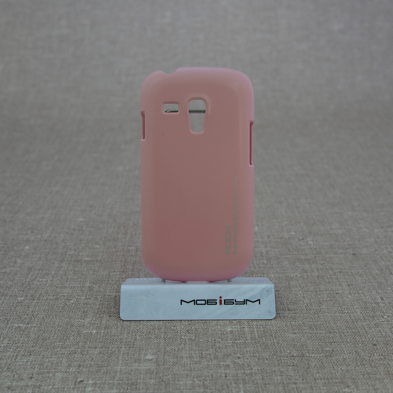 Накладка ROCK New NakedShell Samsung Galaxy S3 mini [i8190] pink EAN/UPC: 695029064475