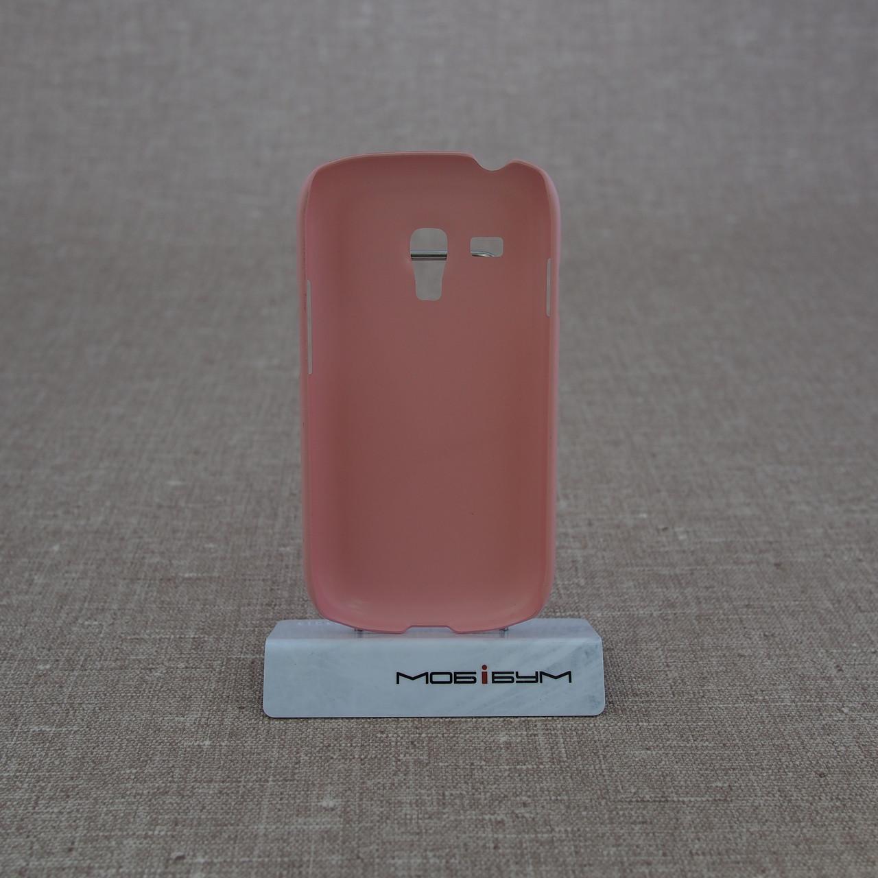 Чехлы для Galaxy S Series (остальные модели) ROCK New NakedShell Samsung S3 mini pink Для телефона i8190 Rock