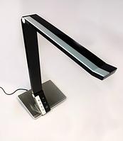 Настольная светодиодная лампа 10Вт LMN089 с регулировкой яркости чёрная , фото 1