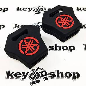Чохол (чорний, силіконовий) для мото ключа Yamaha (Ямаха), фото 2