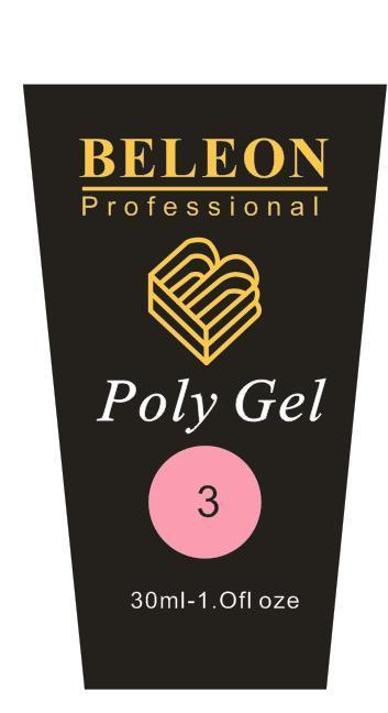 PolyGel Beleon №3 , 30 грамм
